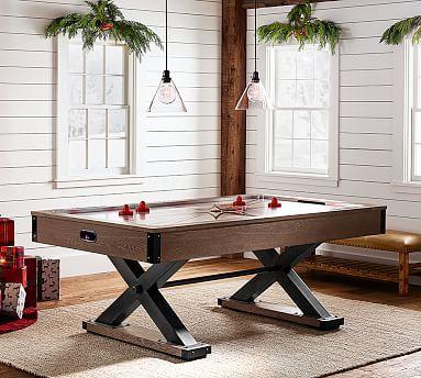 Air Hockey Table Potterybarn Air Hockey Table Air Hockey Game Room