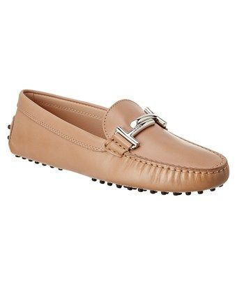 Tod's Double T Gommino Leather L... newest for sale cheap high quality u4UkBWIh2