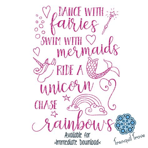Dance with Fairies, Swim with Mermaids, Ride a Unicorn, & Chase Rainbows