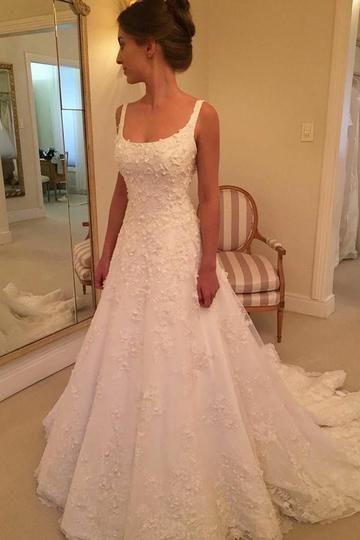 Red Wedding Guest Dresses, Wedding Dress Black, Scoop Wedding Dress, Wedding Dresses With Straps, Princess Wedding Dresses, Long Bridesmaid Dresses, Lace Wedding, Wedding Venues, Elegant Wedding Gowns