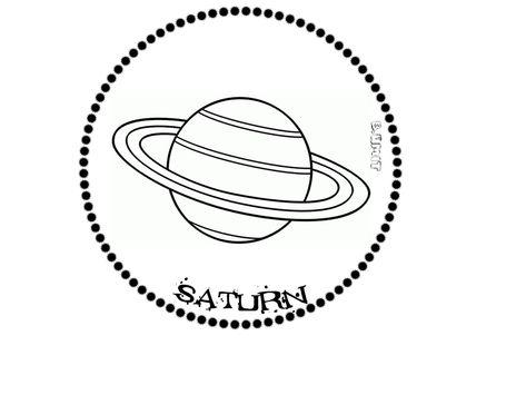 Gunes Sistemi Saturn Boyama Sayfalari Gezegenler Ve Okul Oncesi