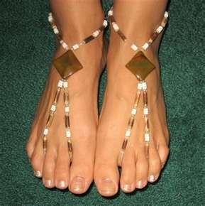 Barefoot sandals - double toe