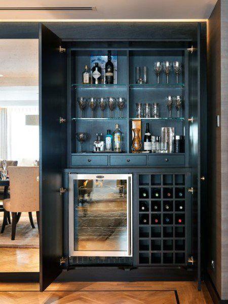 Top 70 Best Home Mini Bar Ideas Cool Beverage Storage Spots Home Bar Rooms Diy Home Bar Modern Home Bar
