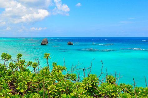 Bermuda / Aan te raden van oktober tot maart / De archipel van Bermuda is de paradijselijke streek van roze stranden, roze huizen en even kl...