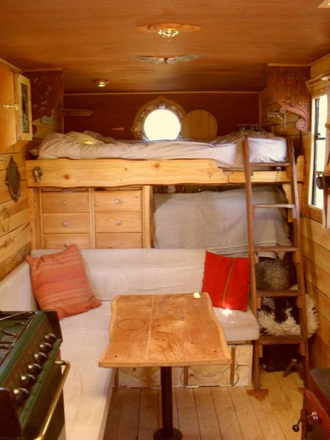refurbished rustic campers - i could *live* in one of these!