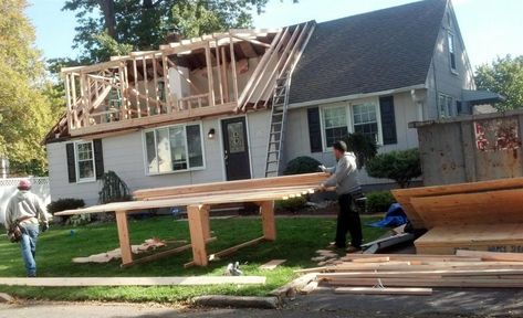 Raising A Roof Adding A Dormer Changing A Roof Line Cost Permitting Planning Roi House Roof Dormers Roof Architecture
