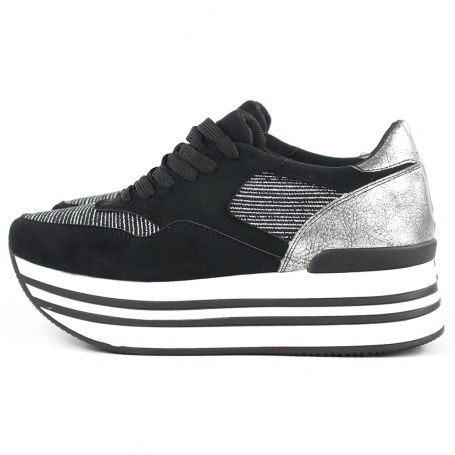 Sneaker femmes casual en cuir synthétique baskets sports school femme filles chaussures uk