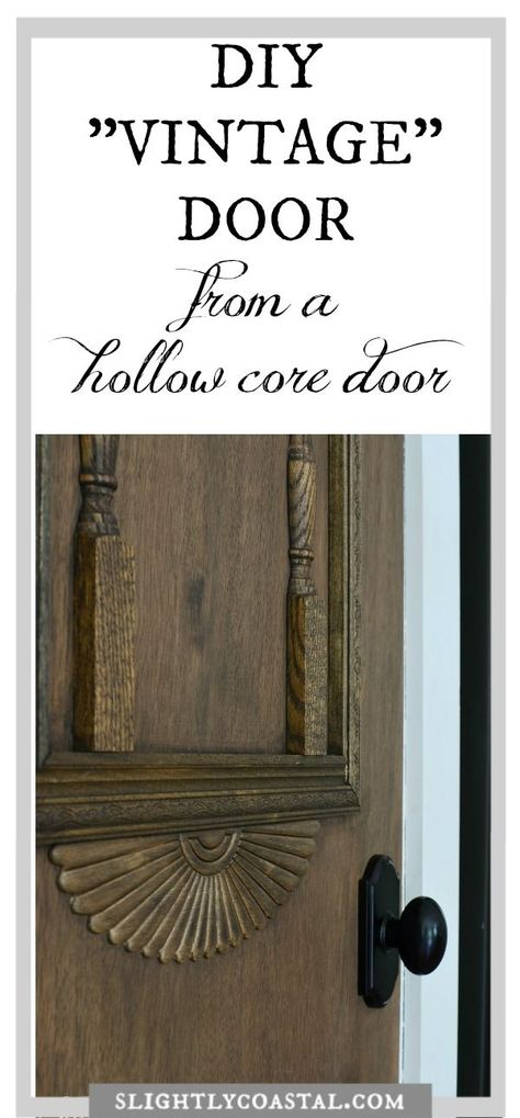 Diy Antique Pantry Door Vintage Door Diy Door Diy Vintage