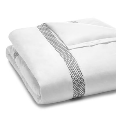 Hudson Park Collection 500tc Embroidered Geo Duvet Cover King 100 Exclusive In 2021 Hudson Park Collection Hudson Park Duvet Covers