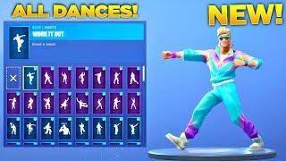 NEW* MULLET MARAUDER SKIN SHOWCASE WITH ALL FORTNITE DANCES