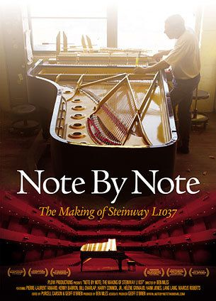 Note By Note + A Steinway piano can take up to a year to make