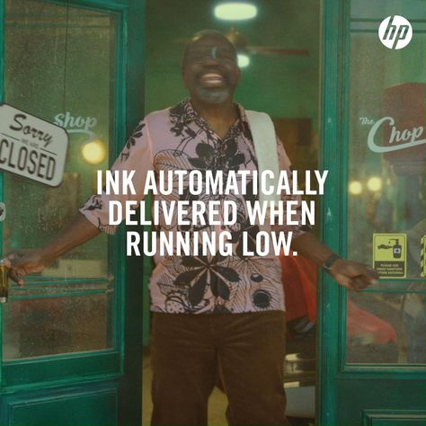 Get ink delivered before you know you're running low.