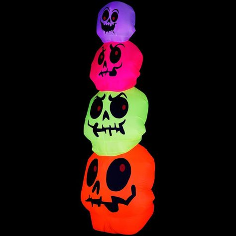 Gemmy 8-ft Lighted Halloween Inflatable $6500 lowes halloween - lowes halloween inflatables