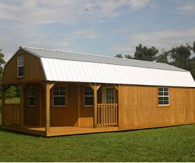 Mytinyhousedirectory Buy Or Rent To Own Derksen Portable Storage Buildings Portable Sheds And Portable Lofted Barn Cabin Portable Sheds Portable Buildings