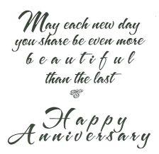 Happy Anniversary Wedding Quote Romantic Art Of