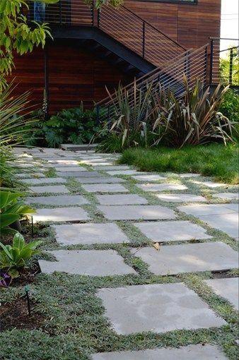 33 Flagstone And Gravel Walkway Ideas Garden Pavers Amazing Gardens Garden Paths
