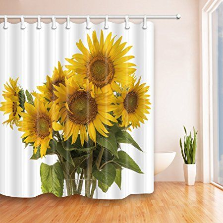 Nymb A Bunch Of Sunflowers 69x70 Inches Mildew Resistant Polyester