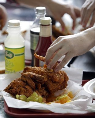 Fried chicken in a way you've never thought.