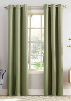 Sun Zero Hayden Energy Efficient Blackout Grommet Curtain Panel