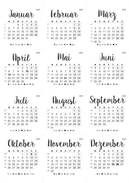 Most Up To Date Cost Free 2020 Calendar Handmade Ideas The