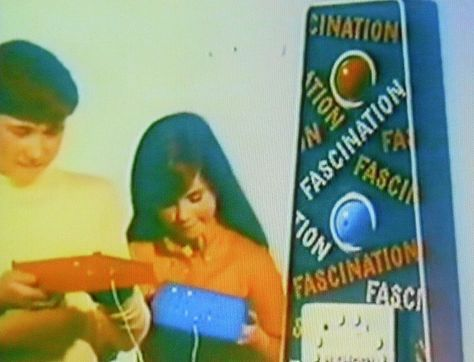 1960s FASCINATION GAME TOY -- I had this one.