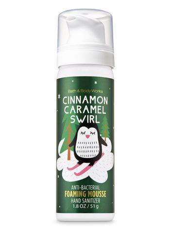 Cinnamon Caramel Swirl Foaming Hand Sanitizer Bath And Body