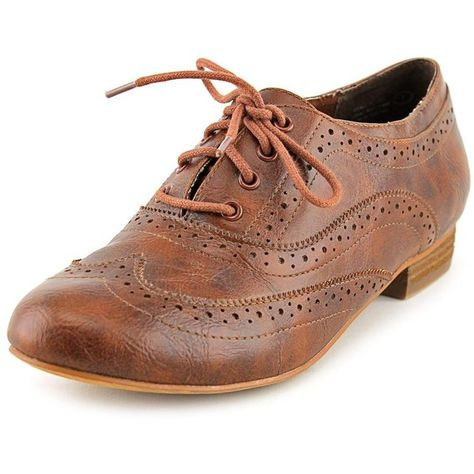 Not Rated Crush Time Women Oxfords ( 17) ❤ liked on Polyvore featuring shoes b93e3ed90358