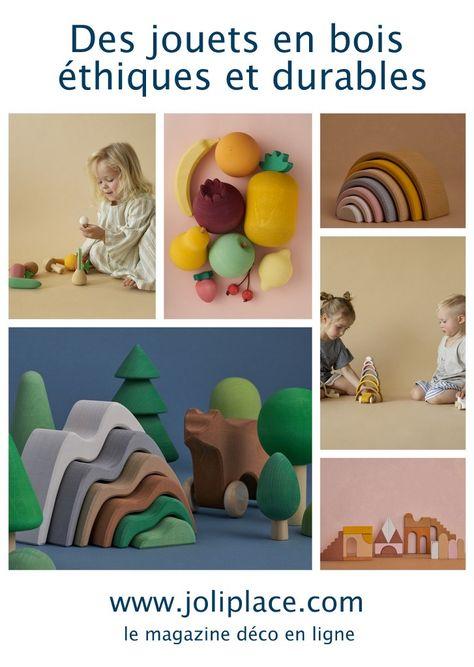 Des jouets en bois éthiques et durables - JOLI PLACE