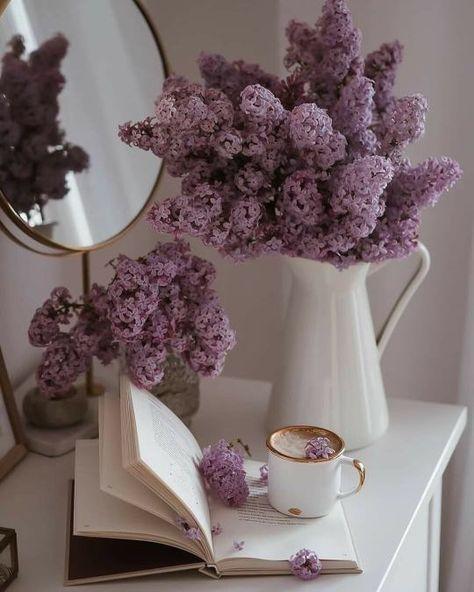 Lavender Aesthetic, Aesthetic Colors, Flower Aesthetic, Aesthetic Pictures, My Flower, Flower Power, No Rain, Pastel Purple, Periwinkle