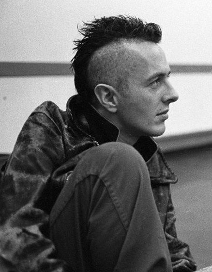 Joe Strummer was my hero when I was 15. Still is.