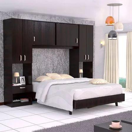 Combo Dormitorio Cama Closet Y Mesas De Noche Maderkit 01163 Rochelle Bedroom Bed Design Bed Furniture Design Bedroom Furniture Design