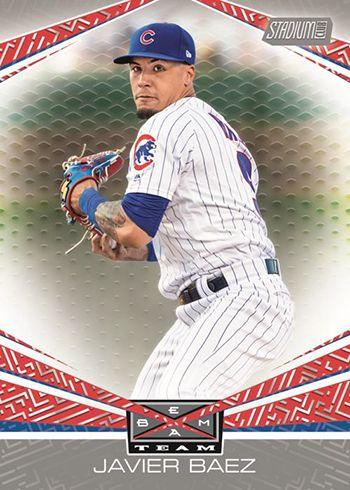 2019 Topps Stadium Club Baseball Beam Team Baseball Card Sets