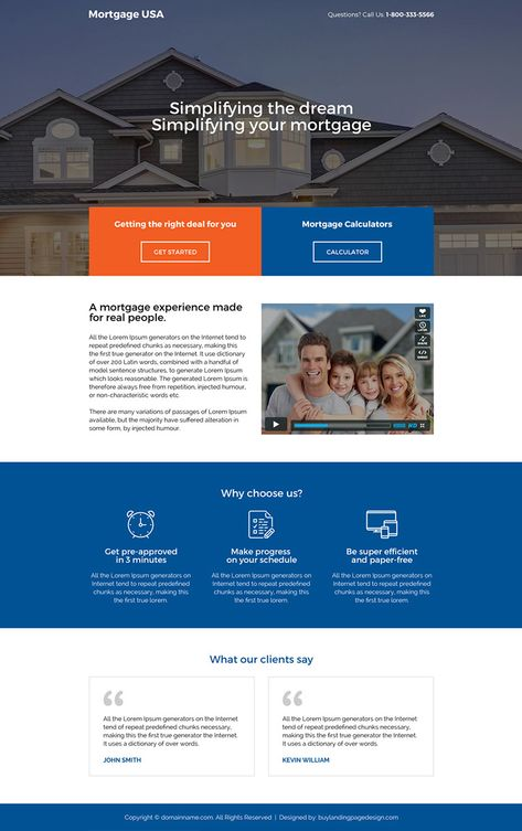 usa-mortgage-deals-rate-calculator-reslp-14 | Mortgage Landing Page Design preview.