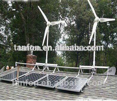 Source 1KW 2KW 3KW wind generator solar pannel home kit/5kw wind