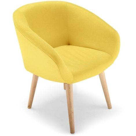 Chaise Fauteuil Style Scandinave Frost Jaune Jaune Lsr15146jaune Fauteuil Style Scandinave Chaise Fauteuil Chaise Style Scandinave