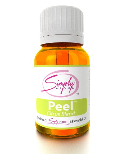 #Peel 10 mL - Citrus Blend Peel is a beautiful blend that combines a variety of citrus essential oils with a touch of vanilla. Improve your #Mood and #Cleanse the air with the sweet smell of Peel. by #SimplyAroma