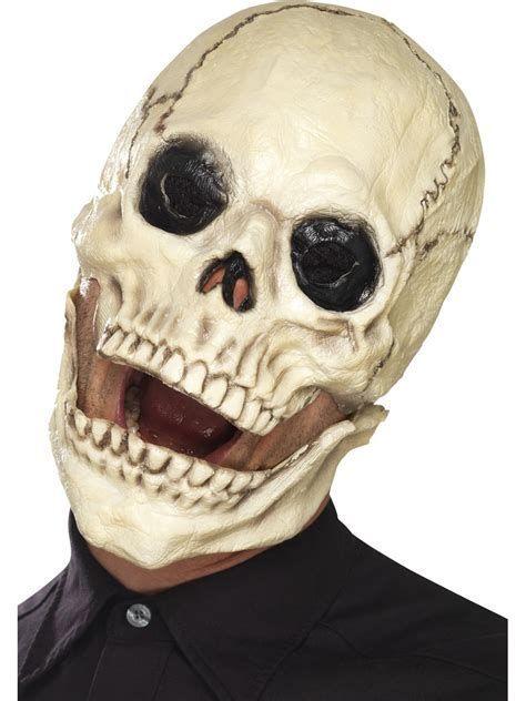 Adults Silver Skull Mask Fancy Dress Grim Reaper Skeleton Scary Ghost Halloween
