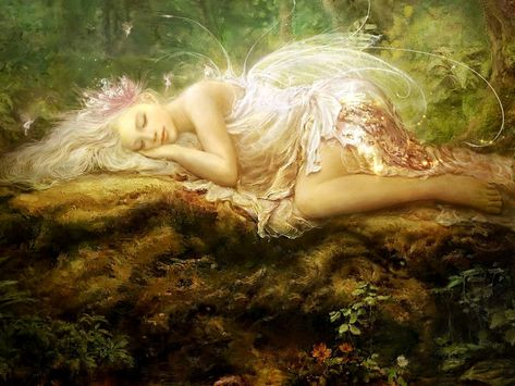 Sleepy fairy