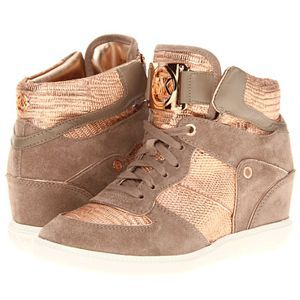 MICHAEL KORS Nikko High-top sneakers. A