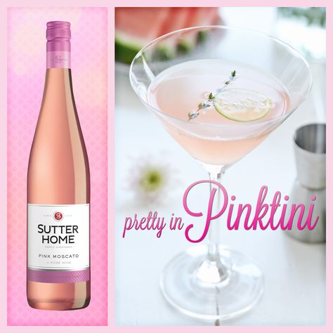 Sutter Home Wine Cocktail – Pretty in Pinktini | Sutter Home