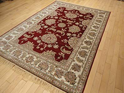 Luxury Silk Red Red Rugs For Living Room 5 X7 High End Red Rugs