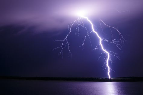 What are the different types of lightning?
