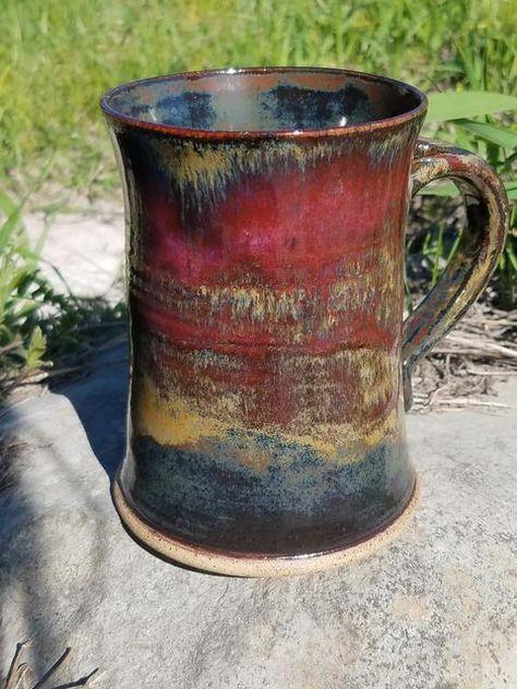 Glazes For Pottery, Pottery Mugs, Ceramic Pottery, Pottery Art, Ceramic Art, Earthenware, Stoneware, Pottery Techniques, Glazing Techniques