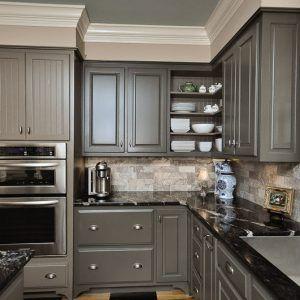 Grayish Blue Kitchen Cabinets | Home Decor | Pinterest | Blue Kitchen  Cabinets, Greyish Blue And Kitchens