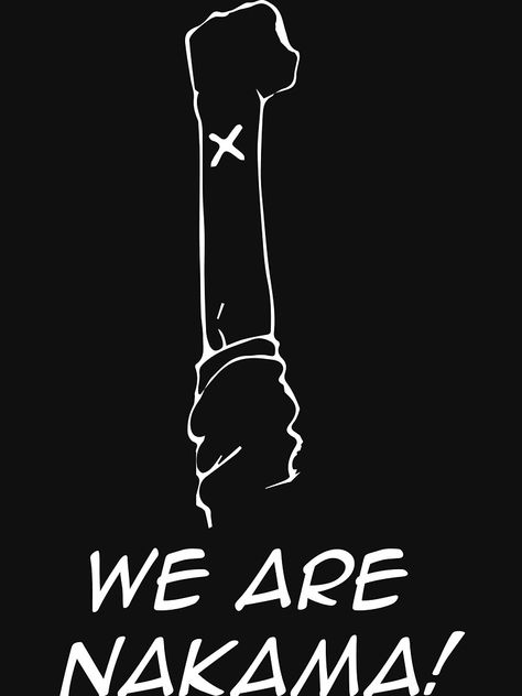 'We are Nakama!' Essential T-Shirt by MirkoCulibrk
