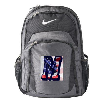 M-Customizable School BackpackGold Polka Dots Print Design