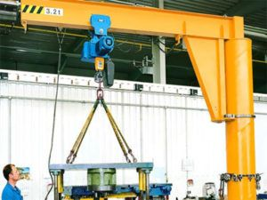 Floor Mounted Jib Crane Crane Construction Equipment Mounting