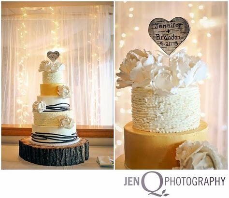 Gorgeous Wedding Cake JENNIFER AND BRANDON::JUST MARRIED!! { Grand Rapids  Michigan Wedding Photographer }   JenQphotography   Pinterest    Photographers