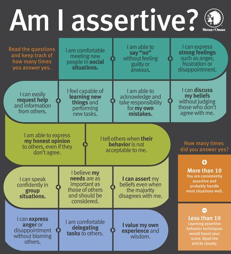Measuring Your Assertiveness | Mutual of Omaha Insurance