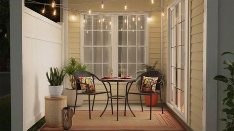 Transform your small outdoor space with furniture and accessories in a weekend with these easy designs. Perfect for small square footage without sacrificing style in the process.
